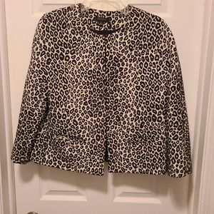 Anne Klein Classic Cropped Jacket